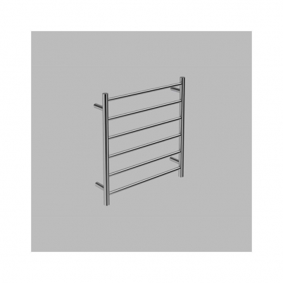 Neko Trend Heated Towel Rail 650x620x112mm Round Polished S/Steel L/H Power Outlet