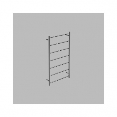 Neko Trend Heated Towel Rail 1100x600x112mm Round Polished S/Steel L/H Power Outlet