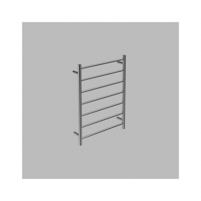 Neko Trend Heated Towel Rail 800x600x112mm Round Polished S/Steel L/H Power Outlet
