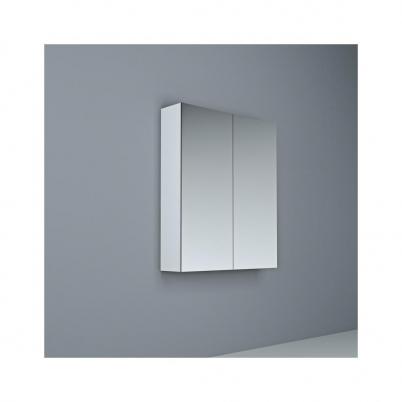 Crave Mirror Door Shaving Cabinet 600 x 700mm with Soft Close Hinges White