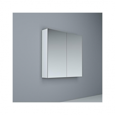 Crave Mirror Door Shaving Cabinet 750 x 700mm with Soft Close Hinges White
