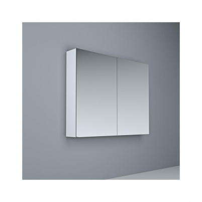 Crave Mirror Door Shaving Cabinet 900 x 700mm with Soft Close Hinges White