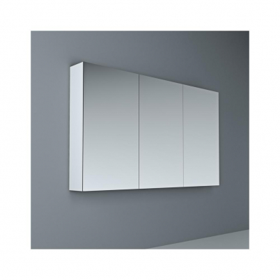 Crave Mirror Door Shaving Cabinet 1200 x 700mm with Soft Close Hinges White