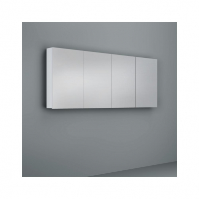 Crave Mirror Door Shaving Cabinet 1800 x 700mm with Soft Close Hinges White