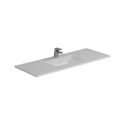Cloudy Day Top+U/Mnt Basin Only To Suit 1200mm Neko Vanity (Centre Bowl) 1TH