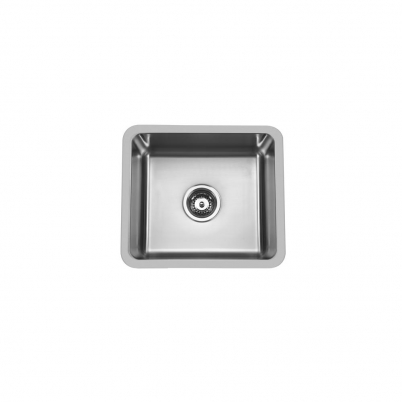 Hue 450 Rectangle Single Bowl Undercounter/Countertop Sink NTH 450x400x200mm S/Steel
