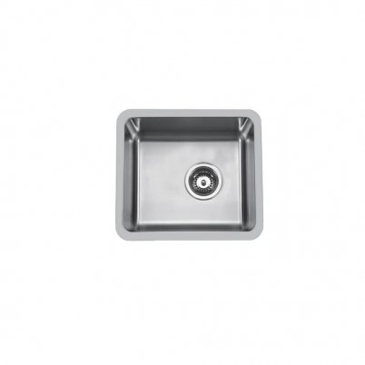 Hue 500 Rectangle Single Bowl Undercounter/Countertop Sink NTH 500x450x210mm S/Steel