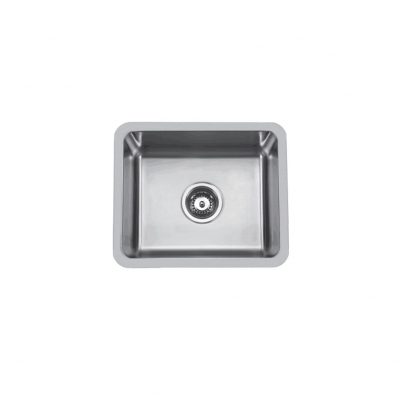 Hue 550 Rectangle Single Bowl Undercounter/Countertop Sink NTH 550x450x210mm S/Steel