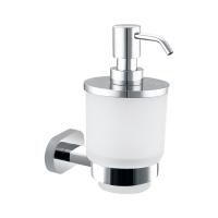 Neko Lux Soap Dispenser+Holder Chrome