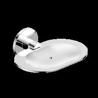 Neko Trend Soap Dish Holder With Hole Chrome