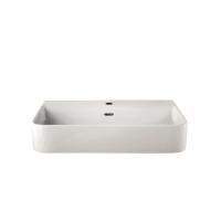 Lux Above Counter Basin 550 x 400mm Ceramic White