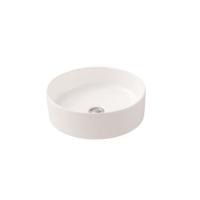 Trend Above Counter Basin Round 400mm Ceramic Matte White