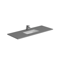 Berlin Grey Top+U/Mnt Basin Only To Suit 1200mm Neko Vanity (Centre Bowl) 1TH