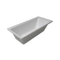 Hue 1525 Rectangle Drop in Acrylic Bath 1525x760x440mm White